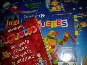 colección de catálogos de juguetes