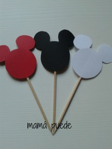 toppers mickey mouse