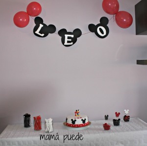 cumple de mickey mouse